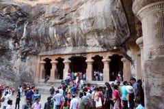 Elephanta-Höhlen, Mumbai Lizenzfreie Stockfotografie