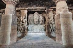 Elephanta-Inselhöhlen stockfoto