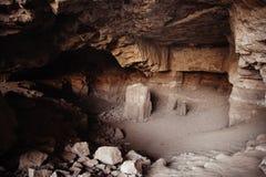Elephanta Island caves, Mumbai, India Royalty Free Stock Photos