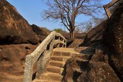 Elephanta Island caves Mumbai in India. royalty free stock photography
