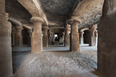 Elephanta Island caves Royalty Free Stock Image