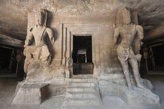Elephanta Island caves Royalty Free Stock Photography