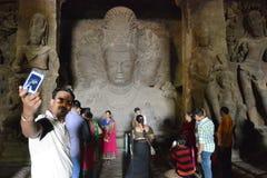 Elephanta island near Mumbai Royalty Free Stock Image