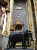 Elephants. Elephant statues at Grand Palace, Bangkok Royalty Free Stock Image