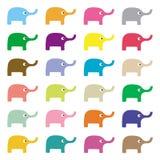 Elephants background3 Royalty Free Stock Photo
