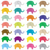 Elephants background5 Royalty Free Stock Photography
