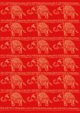 Elephants pattern Stock Photography