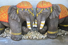 Elephants Statue Royalty Free Stock Image