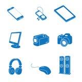 Eletrônica ilustração stock