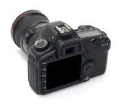 Eletrônica da fotografia da câmara digital Imagens de Stock Royalty Free