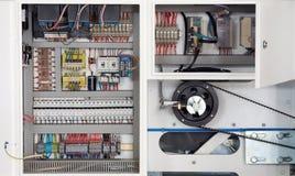 Eletrônica da máquina imagem de stock