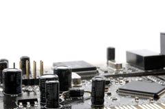 Eletrônica do computador foto de stock
