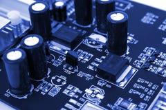 Eletrônica do computador imagem de stock