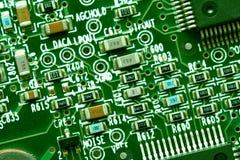 Eletrônica do computador imagens de stock