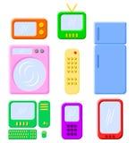Eletrônica e dispositivos Imagens de Stock Royalty Free
