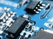 Eletrônica borrada Fotografia de Stock