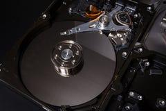 Eletrônica da sucata do disco rígido Foto de Stock