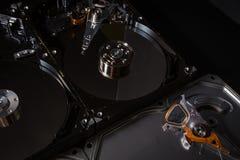Eletrônica da sucata do disco rígido Imagens de Stock