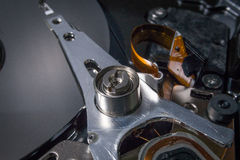 Eletrônica da sucata do disco rígido Fotografia de Stock