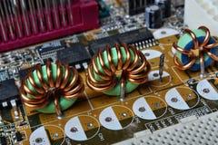 Eletrônica empoeirada Fotos de Stock