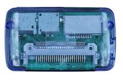Eletrônica no pacote desobstruído Foto de Stock Royalty Free
