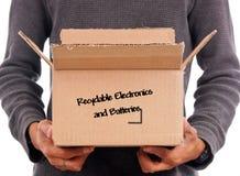 Eletrônica Recyclable Fotografia de Stock