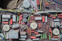 Eletrônica velha Foto de Stock