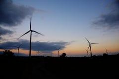 Eletric Power Generator Wind Turbine Stock Photo