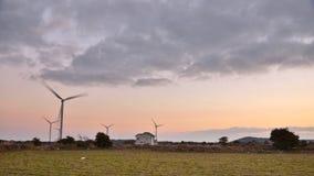 Eletric Power Generator Wind Turbine Royalty Free Stock Photo