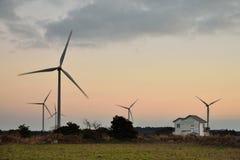 Eletric Power Generator Wind Turbine Stock Photos