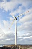 Eletric Power Generator Wind Turbine Royalty Free Stock Images