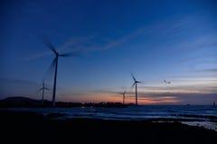 Eletric Power Generator Wind Turbine Royalty Free Stock Photography