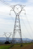 Eletric transmission tower Stock Images