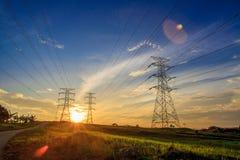 eletricidade Fotografia de Stock Royalty Free