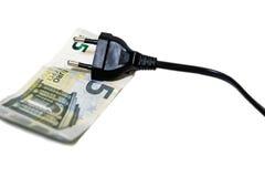 Eletricidade cara Fotografia de Stock Royalty Free