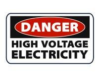 Eletricidade, cartaz super de alta tensão do negócio do sumário da qualidade ilustração stock