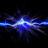 Eletricidade chocante Fotografia de Stock Royalty Free