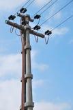 Eletricidade de alta tensão 3D Imagem de Stock