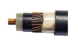 Eletricidade do cabo Fotografia de Stock