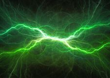 Eletricidade do poder do plasma ilustração royalty free