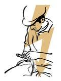 Eletricista ilustração do vetor