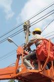 Eletricista 7 Foto de Stock