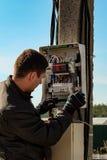 eletricista Foto de Stock