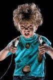 Eletricista pequeno Imagem de Stock Royalty Free