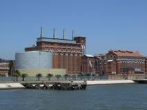 Eletricity Museum Lisbon - Portugal. The ferry view Museum eletricity - Portugal Royalty Free Stock Images