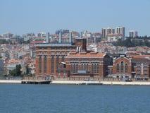 Eletricity museum Lissabon - Portugal Royaltyfria Foton