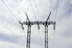 eletricitytorn Arkivbilder