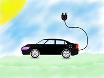 Eletro eletricidade móvel, cartaz super de alta tensão do negócio do sumário da qualidade ilustração do vetor