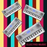 Eletro música Foto de Stock