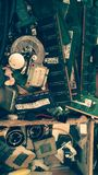 Eletronics-Hardware stockbild